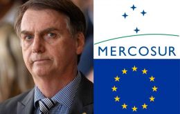 Bolsonaro recalled that the free-trade deal to come into force, as it depends on approvals by lawmakers of all countries involved 27 in EU and 4, Mercosur.
