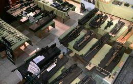 The variety and number of weapons seized underscores how lethal and heavily armed Brazilian drug trafficking gangs have become