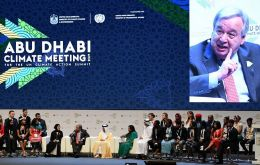 """We are here because the world is facing a grave climate emergency,"" Guterres told a two-day Abu Dhabi Climate Meeting."
