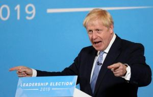 Johnson and foreign minister Jeremy Hunt have stepped up their campaigns to replace Theresa May, and have turned their attention to domestic issues
