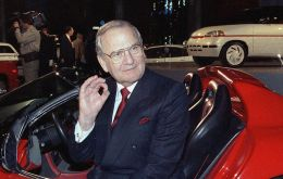 "Iacocca is also remembered for his appearances in Chrysler ads in the US, pointing at viewers and telling them: ""If you find a better car, buy it!"""