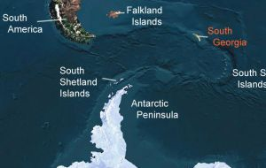 Saunders Island is part of the South Georgia and South Sandwich Islands British Overseas Territory.