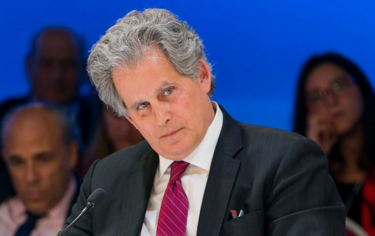 """Argentina's economic policies are yielding results,"" acting IMF chief David Lipton said in a statement, noting that the government achieved all the targets"