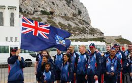 Falklands delegation is headed by manager Mike Summers and includes 27 athletes.(Pic C.Eynon/PN)