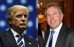 "Trump said Ambassador Kim Darroch had ""not served the UK well"" and that he and his administration were ""not big fans"" of the envoy"