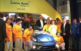 The last Beetle will be put on display at the company's museum in Puebla
