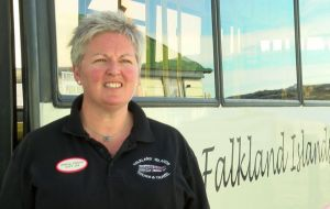 Falkland Islands Tours and Travel Ltd. Andrea Clausen was also excited and supportive of the flight.