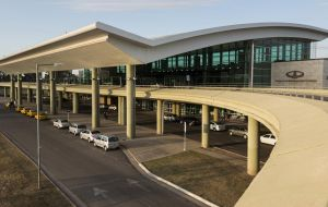 The new route will have a monthly stop at Córdoba Airport Ing. Ambrosio Taravella