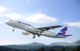 LATAM Argentina serves the Ezeiza-Miami route with an old Boeing 767 that will become obsolete as of January 1.