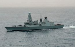 HMS Duncan is deploying to maintain a continuous British maritime security presence in the Persian Gulf.