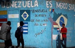 Venezuela is currently banned from Mercosur
