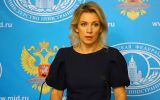 "Maria Zakharova: ""those accusations usually cite official sources in Washington."""
