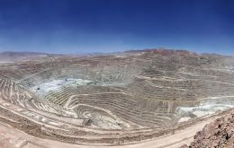 In its second-quarterly report the Chilean Copper Commission reduced its 2020 projection from US$3.08 to US$2.90 a pound, it said in a statement