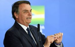 """It is an injection, a small capital injection into the economy, right? And it is welcomed..."" Bolsonaro anticipated at the of Mercosur presidents summit"