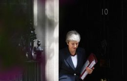 It will be one of Theresa May's final important acts as prime minister before resigning on Wednesday