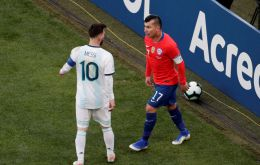 The decision does not mention Messi's attacks against the Copa America organization