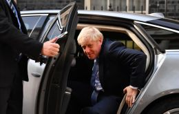 Johnson was chosen to be leader of the Conservative party by its members, and was confirmed prime minister in a meeting on Wednesday with Queen Elizabeth II.