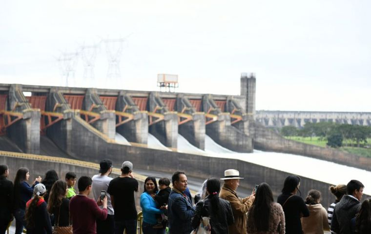 The scandal was sparked by an energy deal related to the Itaipú dam, shared with Brazil which officials and lawmakers said would be hugely harmful for Paraguay
