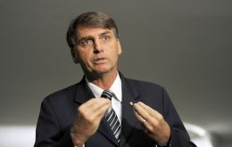 "Speaking to reporters on Tuesday, Bolsonaro said the debate about the contents of the truth commission documents was ""hot air."""