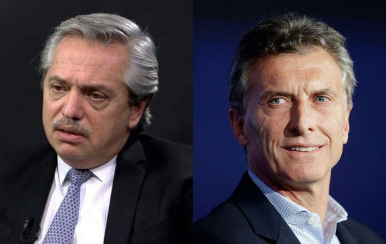 The highly polarized election has Alberto Fernandez and Mauricio Macri monopolizing some 80% of the vote next Sunday