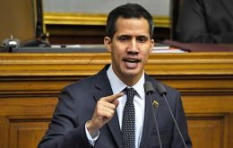 Opposition leader Juan Guaido warned on Sunday that the Constituent Assembly would decide on Monday to disband the congress he leads