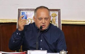 "The Constituent Assembly's head, Diosdado Cabello, downplayed Guaido's comments and said there was no need to disband congress as it ""didn't work"""