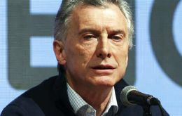 """I trust we will have a more even election in October that will allow us to go to a second round. Those who don't want to go back to the past will join us,"" Macri said"
