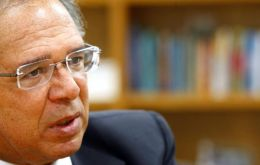 """If Cristina Kirchner gets in and closes the economy, we will leave Mercosur,"" finance minister Paulo Guedes said in Sao Paulo event hosted by Santander bank"