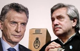 There had been few signs of rapprochement between president Macri and opposition candidate Alberto Fernandez in the immediate aftermath of the vote