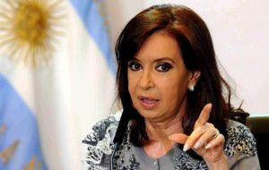 As important as the words of Fernandez, the interview with Clarin is most significant: Clarin was considered by Cristina Kirchner her number ONE enemy