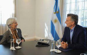 Argentina under Macri signed a stand-by agreement with the IMF in mid-2018 for US$57 billion, pledging in return to implement a significant fiscal adjustment