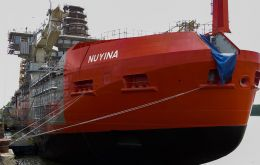 Australia's new icebreaker, RSV Nuyina, is scheduled to make its maiden voyage to Antarctica in 2020-21.