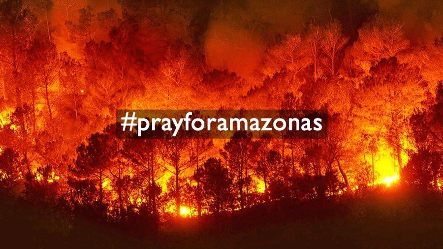 Bolsonaro suggests green groups started the blaze in the