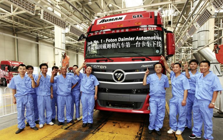 In 2016, Daimler's head of its truck business told German media that it planned to make Mercedes-branded Actros heavy trucks in China by the end of the decade