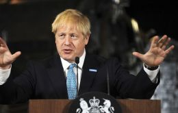 "Boris Johnson said a Queen's Speech would take place after the suspension, on 14 October, to outline his ""very exciting agenda"""