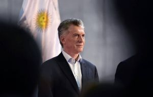 The currency rebound gives some relief to Macri, after a shock primary election battering sparked a sharp crash in the country's bonds, equities and the peso