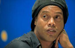 """Tourism is very important for generating jobs and regaining our image internationally,"" Ronaldinho said at his unveiling on Thursday"
