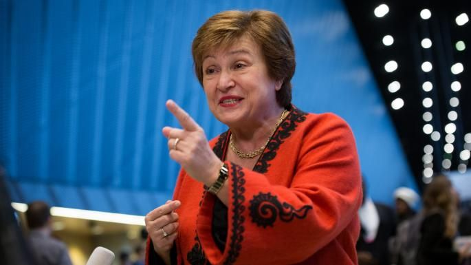 Another lady, Kristalina Georgieva, will become the IMF