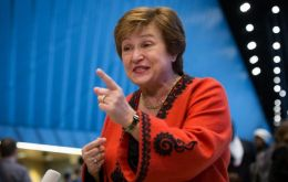 Georgieva will replace former IMF chief Christine Lagarde, who has been named to lead the European Central Bank.