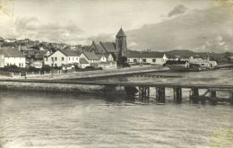 Stanley, Falklands' capital in the forties and early fifties
