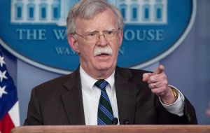 "Trump said Bolton, with his abrasive, hardline approach, ""wasn't getting along with people in the administration that I consider very important."""