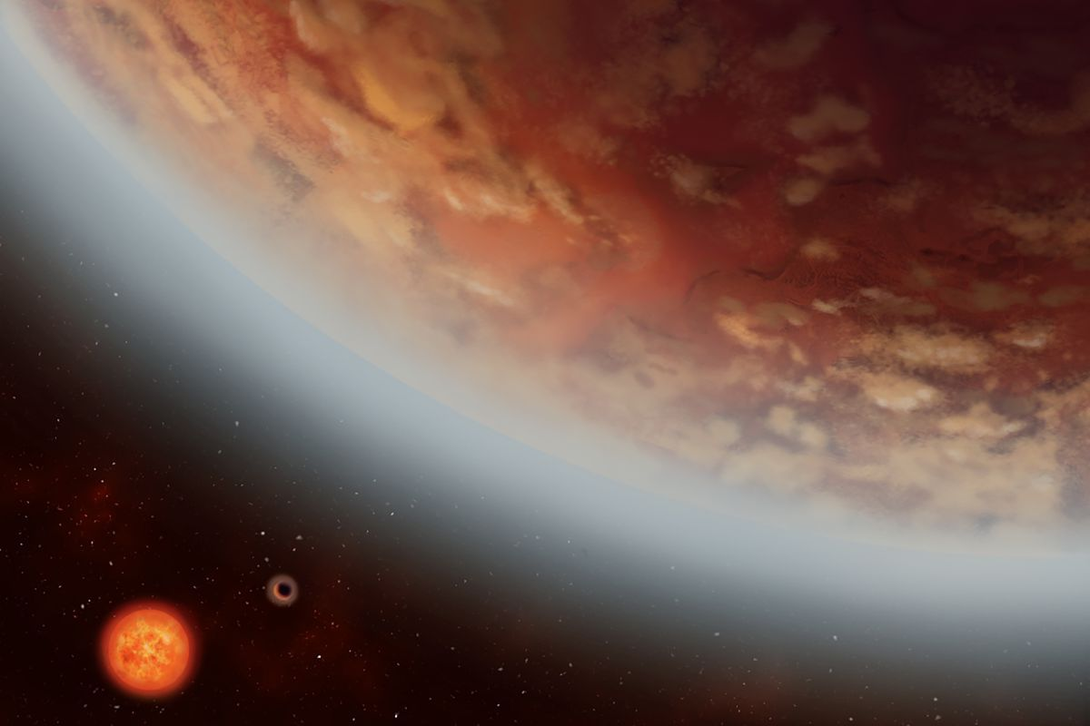 Water vapor found on an 'Earth-sized' exoplanet 110 light-years from home