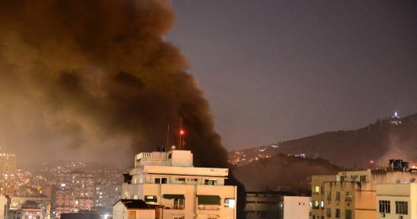 Fire in Rio do Janeiro leaves at least twelve people dead