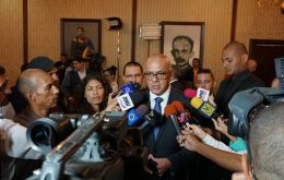 Information Minister Jorge Rodriguez said the government would reform the national electoral commission, which the opposition denounced as biased