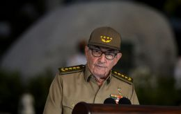 The sanctions mean that the former president - brother of late revolutionary leader Fidel Castro - will be ineligible for travel to the United States