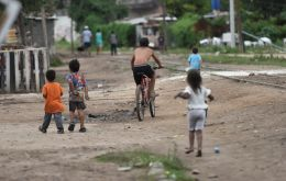 Some of Argentina's youngest are among those hit the hardest. In the first half of 2019, poverty among those aged under 15 reached 52.6%