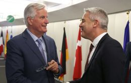 Now, British Brexit minister Stephen Barclay and chief European Union negotiator Michel Barnier are to hold a working breakfast on Friday