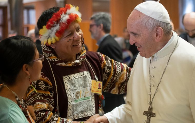 """Two thirds of the indigenous communities without priests are guided by women,"" says Bishop Erwin Krautler, an Austrian missionary who has lived in Brazil"