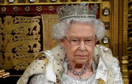 """My government's priority has always been to secure the United Kingdom's departure from the European Union on Oct 31,"" the 93-year-old monarch said"