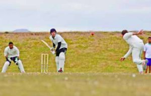 In action at the MPA-Stanley games earlier this year. An outdoor cricket open day is planned for early November